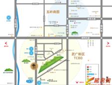 冠华·和熙园交通图