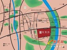 湖南建工东玺台交通图