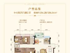 融华·上品澜庭134-136平4+1房