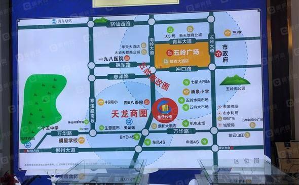 龙云公馆交通图