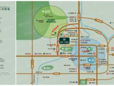 鼎森书香苑交通图