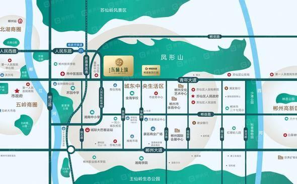东城上筑交通图