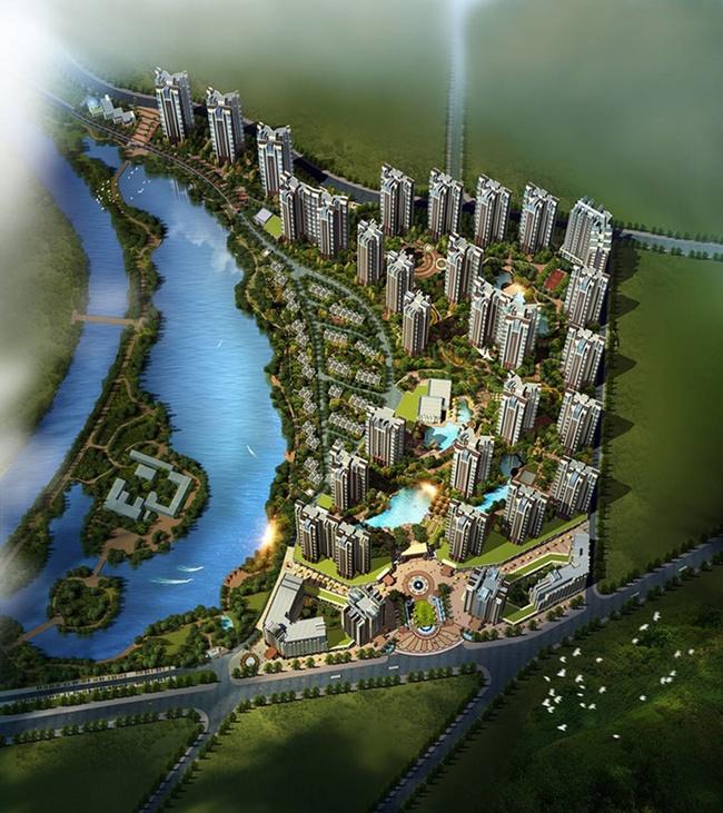 林邑·星湖湾效果图